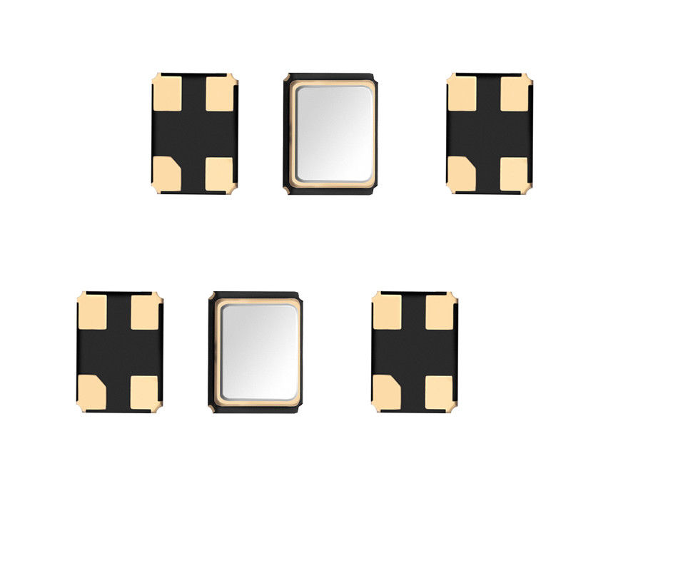 3225 Low Frequency Crystal Oscillator SMD Shape 10ppm 0.7mm Thickness
